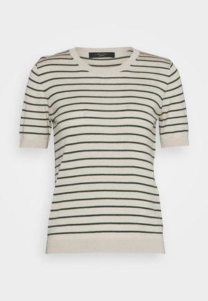 CAIRO - Print T-shirt - dunkelgrün