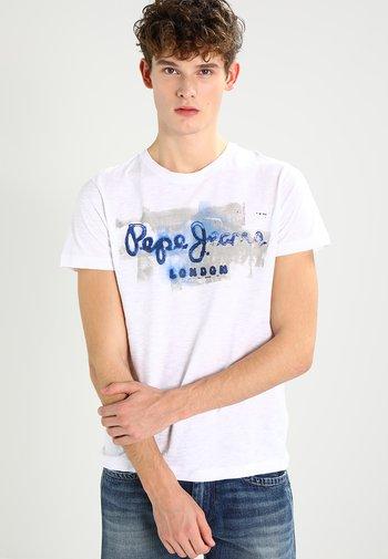 GOLDERS - T-shirt med print - 802