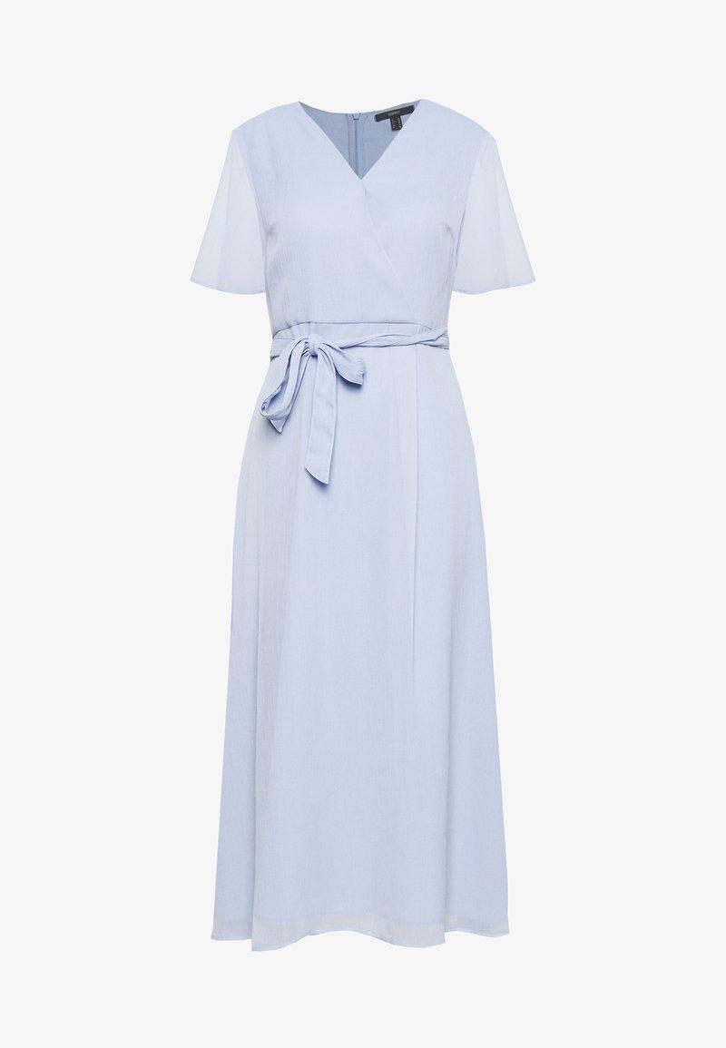 Esprit Collection Petite - CRINKLED - Kotelomekko - blue lavender