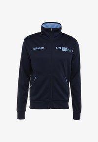Uhlsport - FREIZEIT - Verryttelytakki - marine/skyblau - 4