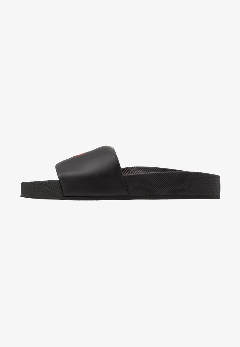 Polo Ralph Lauren - CAYSON - Sandalias planas - black/red