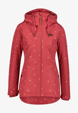 Light jacket - cranberry