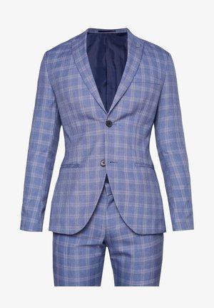 FASHION SUIT CHECK - Suit - navy