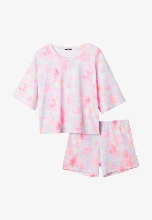 2 PACK - Pyjama set - multifarben sttie&dye rosa