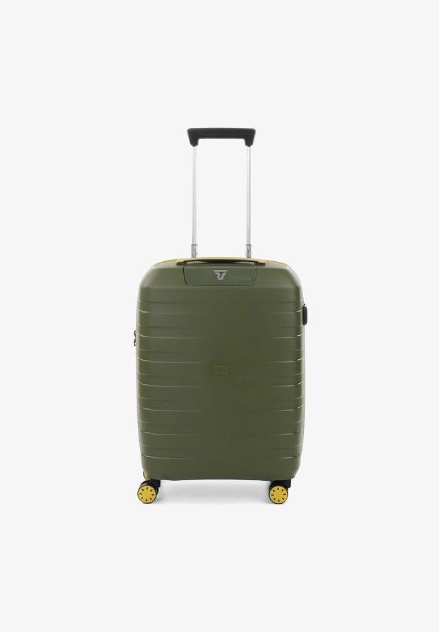 BOX YOUNG 4-ROLLEN KABINENTROLLEY - Wheeled suitcase - kiwi