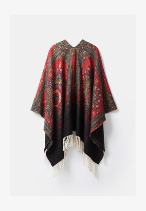 Poncho - brown