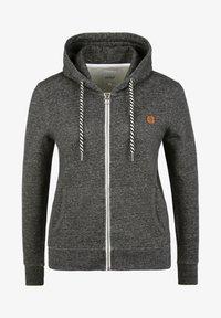 Oxmo - CELIA - Zip-up sweatshirt - black - 5