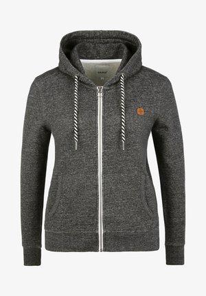 CELIA - Zip-up sweatshirt - black