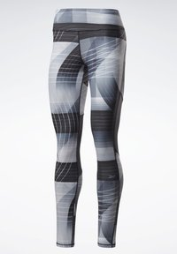 Reebok - RUNNING LUX BOLD LEGGINGS - Leggings - black - 7