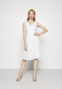 Vila - VIFIORELLA DRESS - Occasion wear - cloud dancer - 0