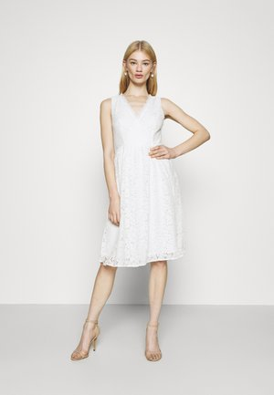 VIFIORELLA DRESS - Occasion wear - cloud dancer