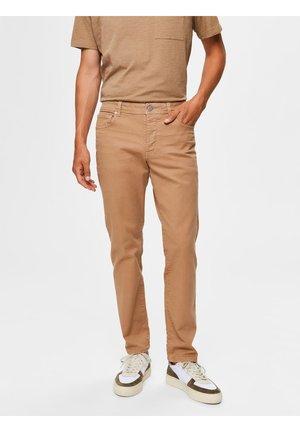 Jeans slim fit - tigers eye