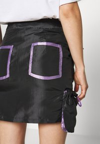 The Ragged Priest - SKIRT GUSSETS - Minihame - black/purple - 6