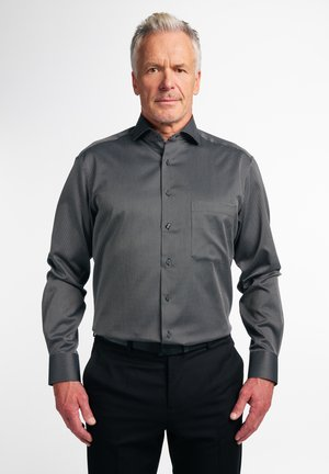 LANGARM COMFORT FIT - Shirt - schwarz/anthrazit