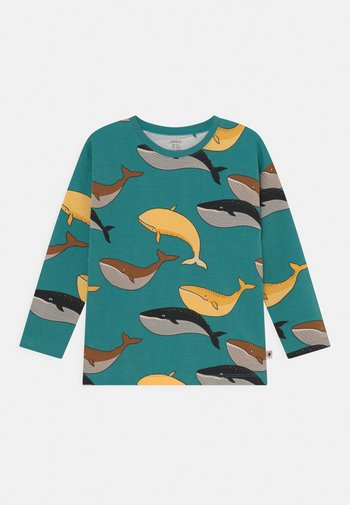 MINI WHALE UNISEX - Long sleeved top - green