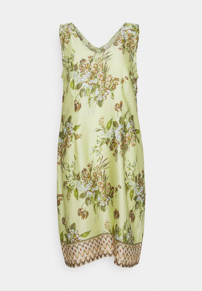Cream - DRESS - Day dress - green