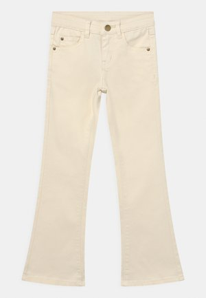 Bootcut jeans - white swan