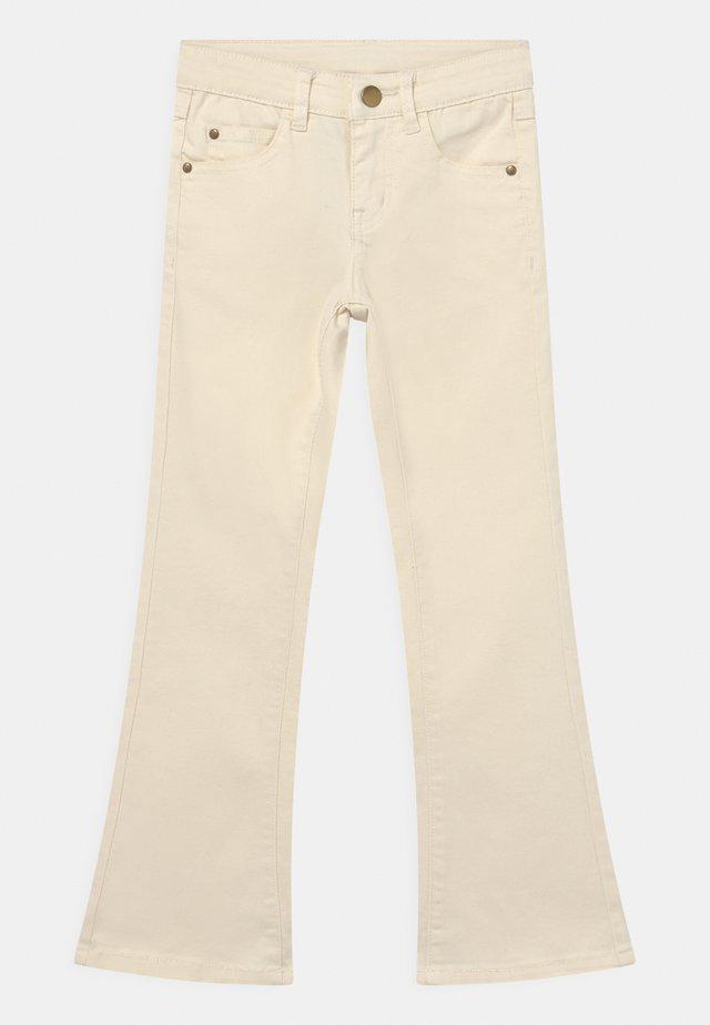 Jeans bootcut - white swan