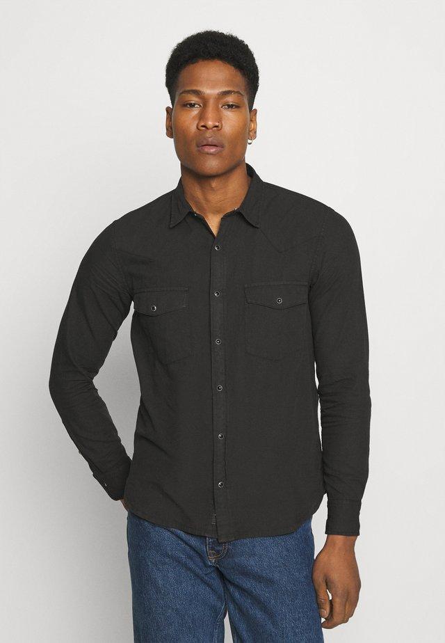WAITS WESTERN - Skjorte - black