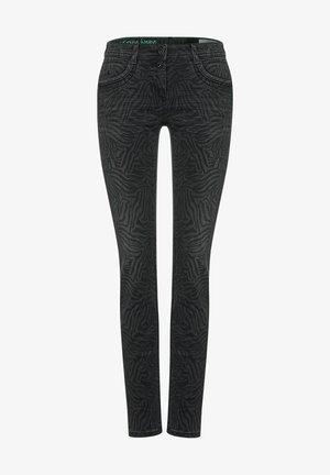 Slim fit jeans - grau