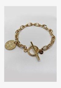 LOLA - T BAR CHUNKY - Bracelet - gold coloured - 0