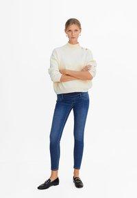 Mango - PITIMAT-I - Jeans Skinny Fit - blue - 1