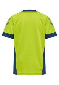 Hummel - Print T-shirt - lime punch - 1