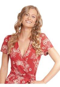 Vive Maria - HAWAII HULA  - Day dress - rot allover - 3