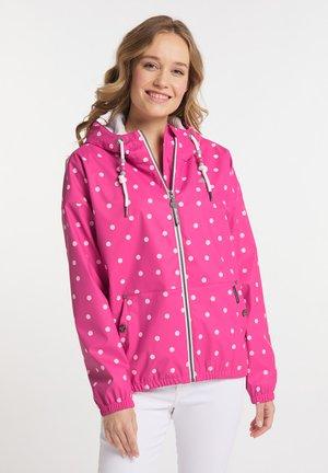 Light jacket - pink aop
