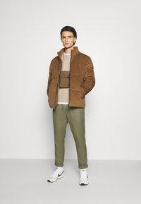 Nominal - JACKET - Winter jacket - tan - 1