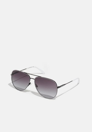 UNISEX - Sunglasses - black/white