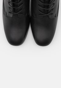 Anna Field - LEATHER - Lace-up ankle boots - black - 5