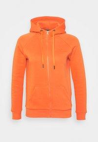 ORIGINAL ZIP HOOD - Sweat à capuche zippé - zeal orange