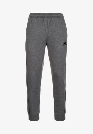 CORE 18  - Tracksuit bottoms - dark grey/white