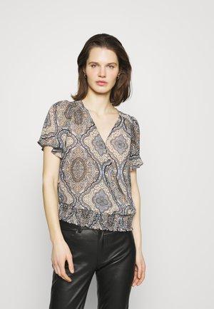 NADY - Print T-shirt - chambray blue