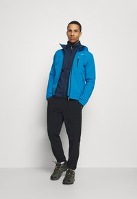CMP - MAN JACKET ZIP HOOD - Soft shell jacket - river blue ink - 1
