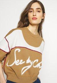 See by Chloé - Sweter - desert beige - 4