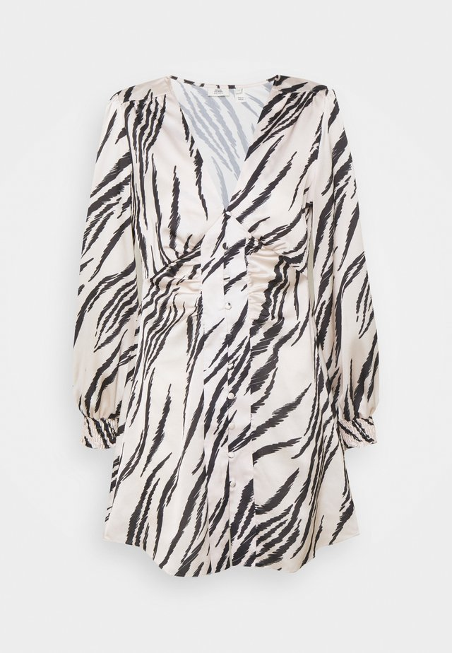 Skjortklänning - white/black