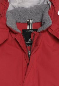 Didriksons - OSTRONET KIDS JACKET - Waterproof jacket - rasberry red - 5