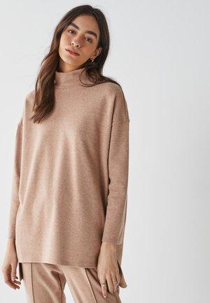 Camiseta de manga larga - camel