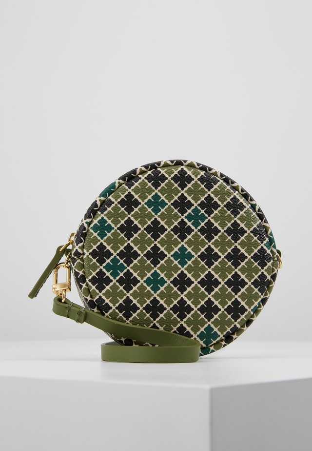 CIRCLE BAG - Across body bag - olivine