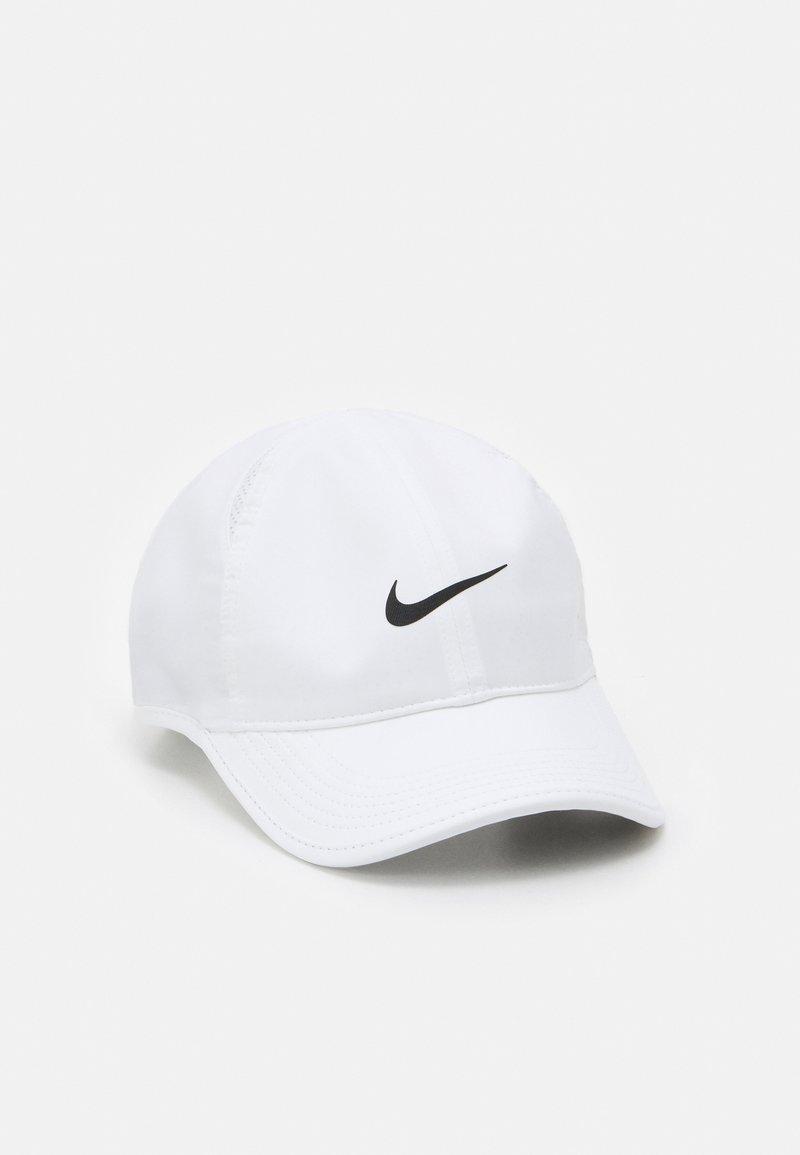 Nike Sportswear - FEATHERLIGHT UNISEX - Keps - white/black