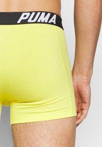 Puma - SPACEDYE STRIPE BOXER 2 PACK - Panties - yellow / grey - 5