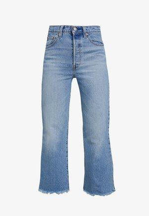 RIBCAGE CROP FLARE - Široké džíny - scapegoat