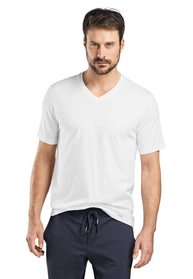 LIVING - T-shirt - bas - white