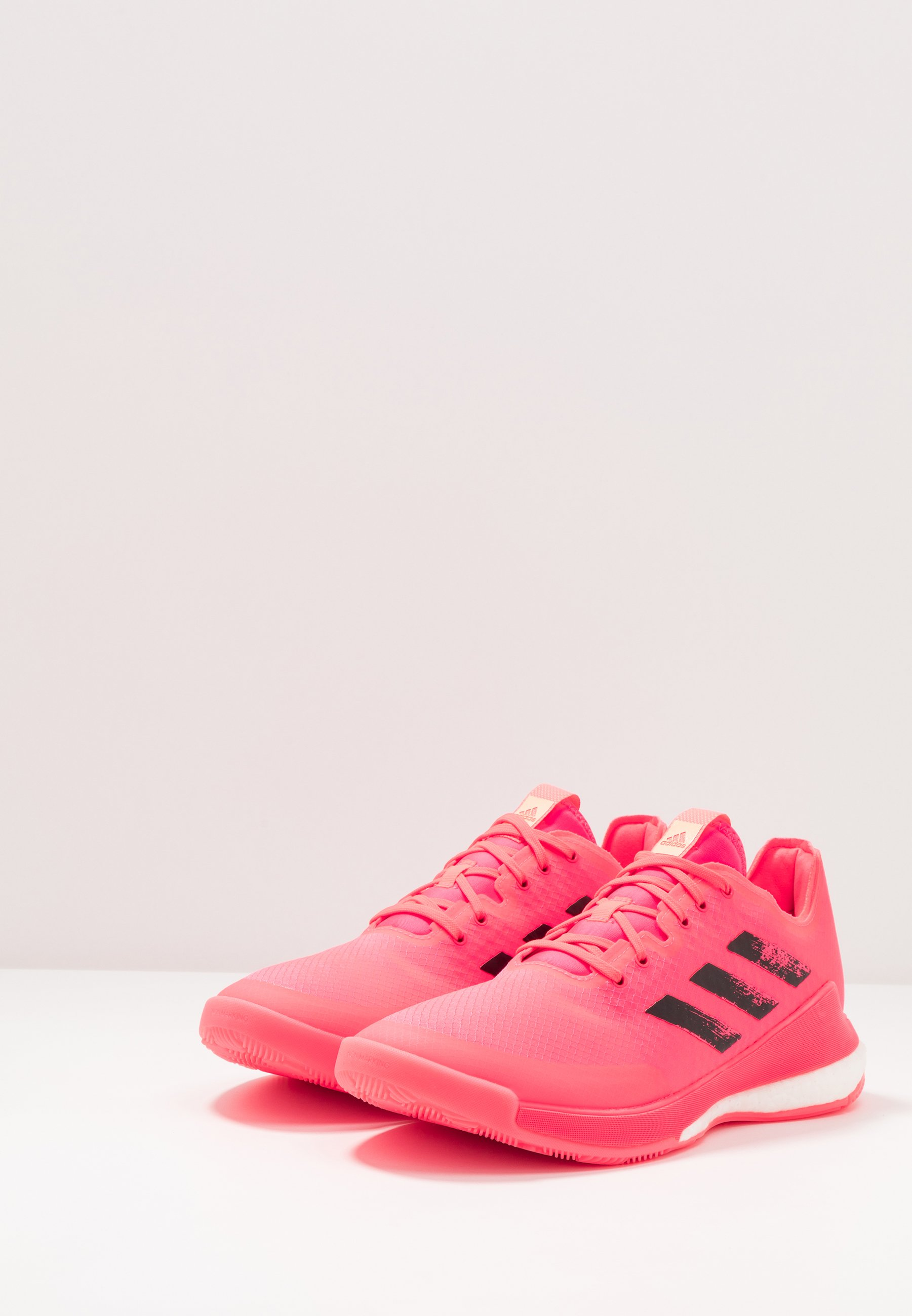 adidas Performance CRAZYFLIGHT TOKYO - Volleyballschuh - signal pink/core black/copper metallic/pink - Herrenschuhe ojHB5