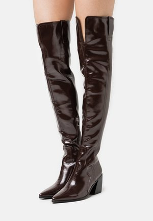 PHYLLIS - Over-the-knee boots - brown