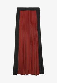 FRANKA SKIRT - A-line skirt - cayenne/black
