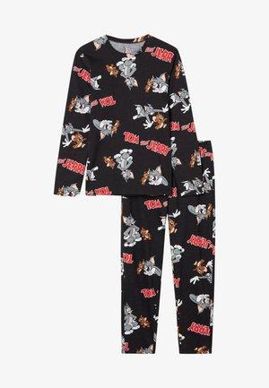 TOM&JERRY - Pyjama set - nero st.tom&jerry allover
