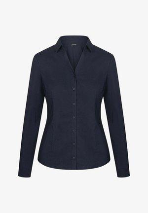Button-down blouse - nachtblau